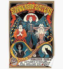 Sanderson Sisters Vintage Tour Poster Poster