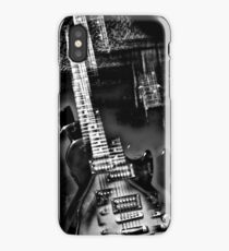 Rock Star an abstract of an electric guitar  iPhone Case