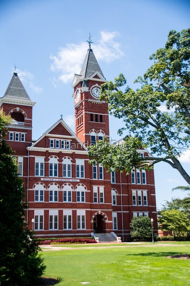 Samford Hall Auburn University by RandolphRue