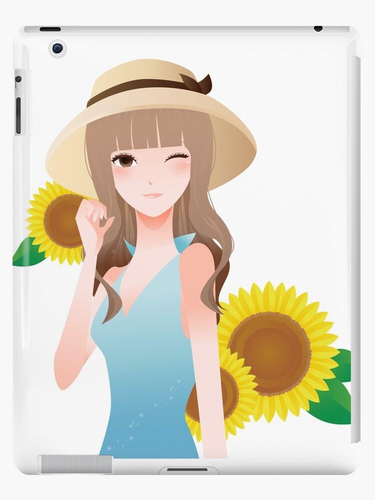 A walk among sunflowers by RaionKeiji
