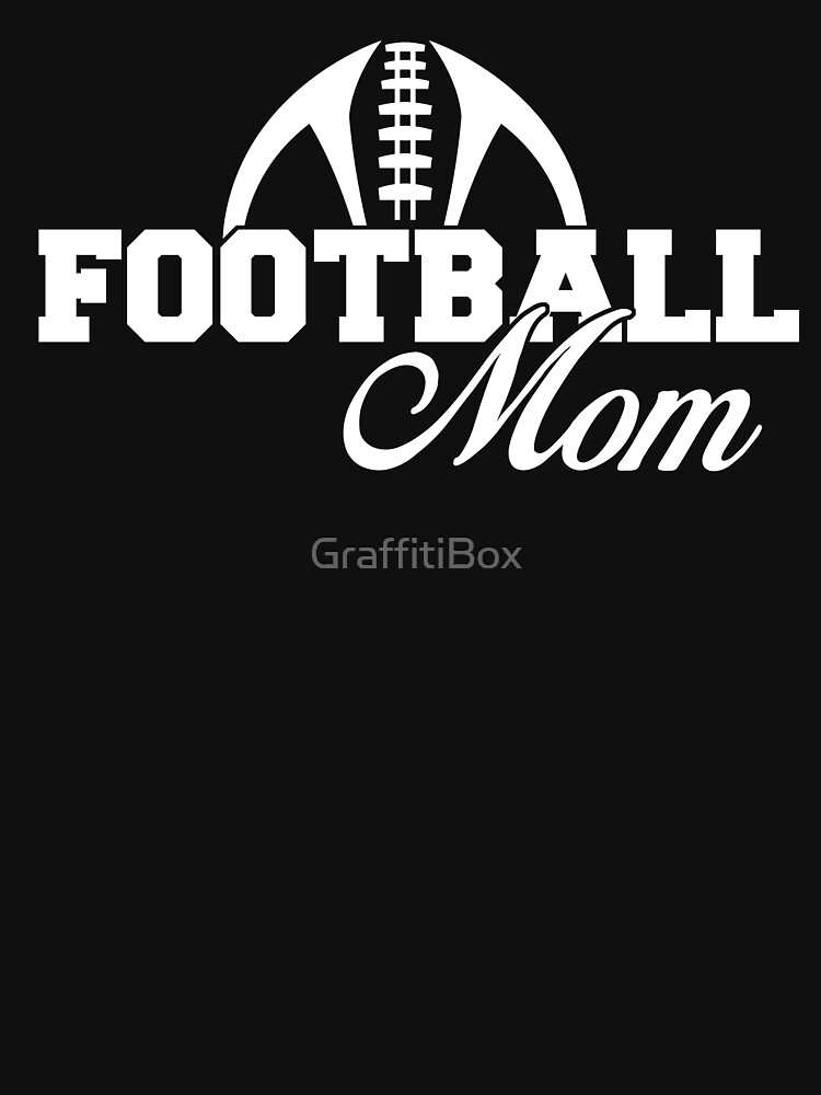 Football Mom by GraffitiBox