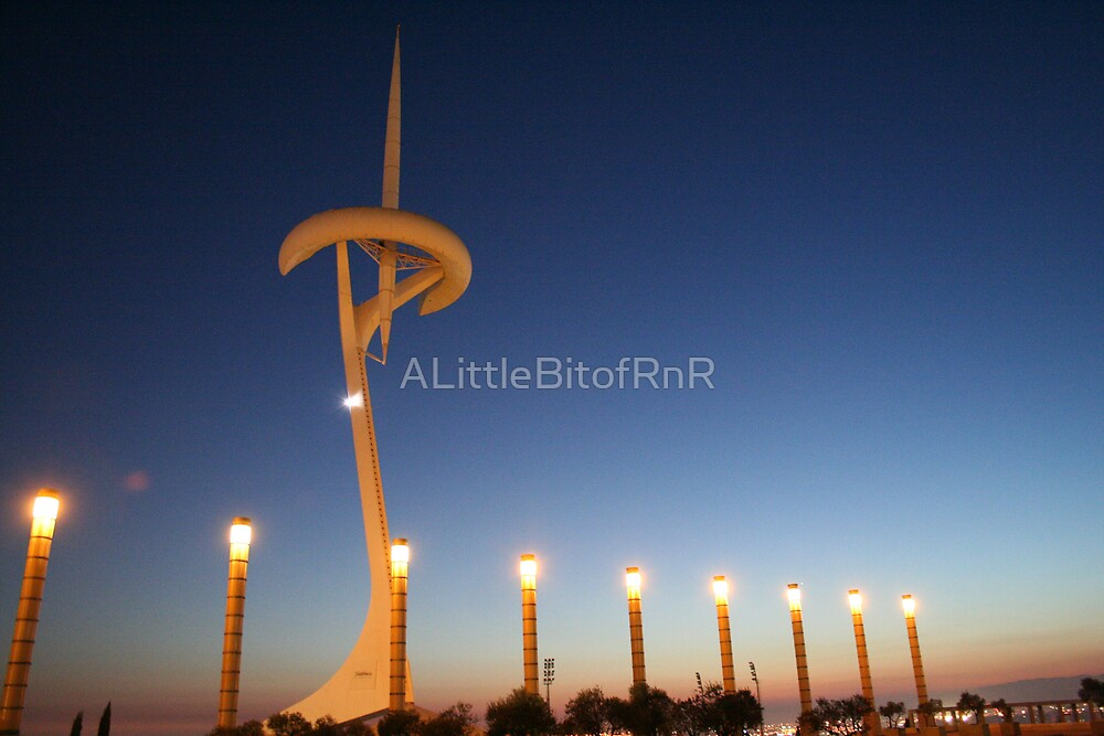 Montjuic Communications Tower  by ALittleBitofRnR