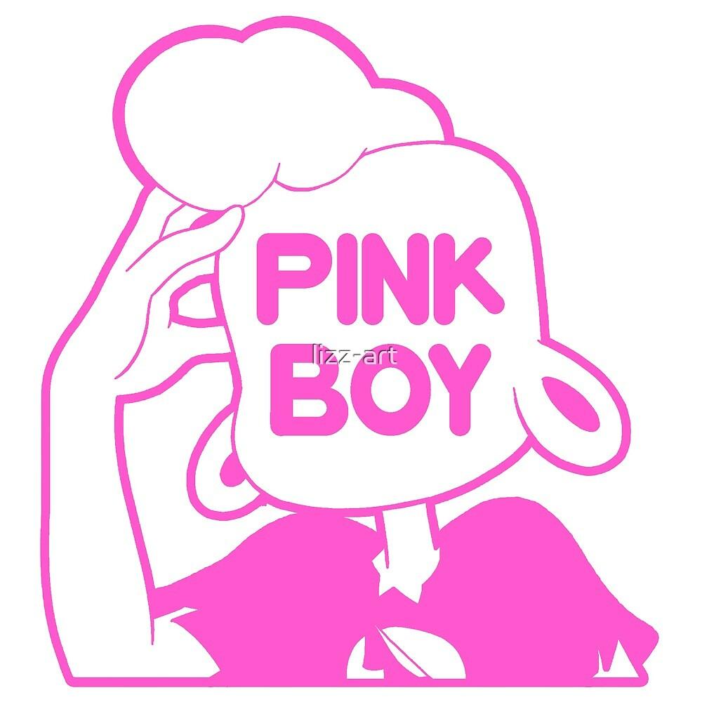 pink boy by lizz-art