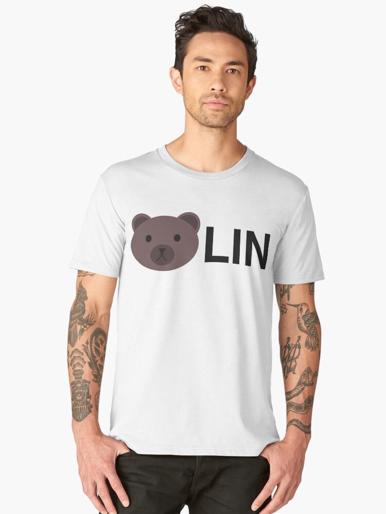 Berlin Germany, Bear Lin Bearlin Men's Premium T-Shirt Front
