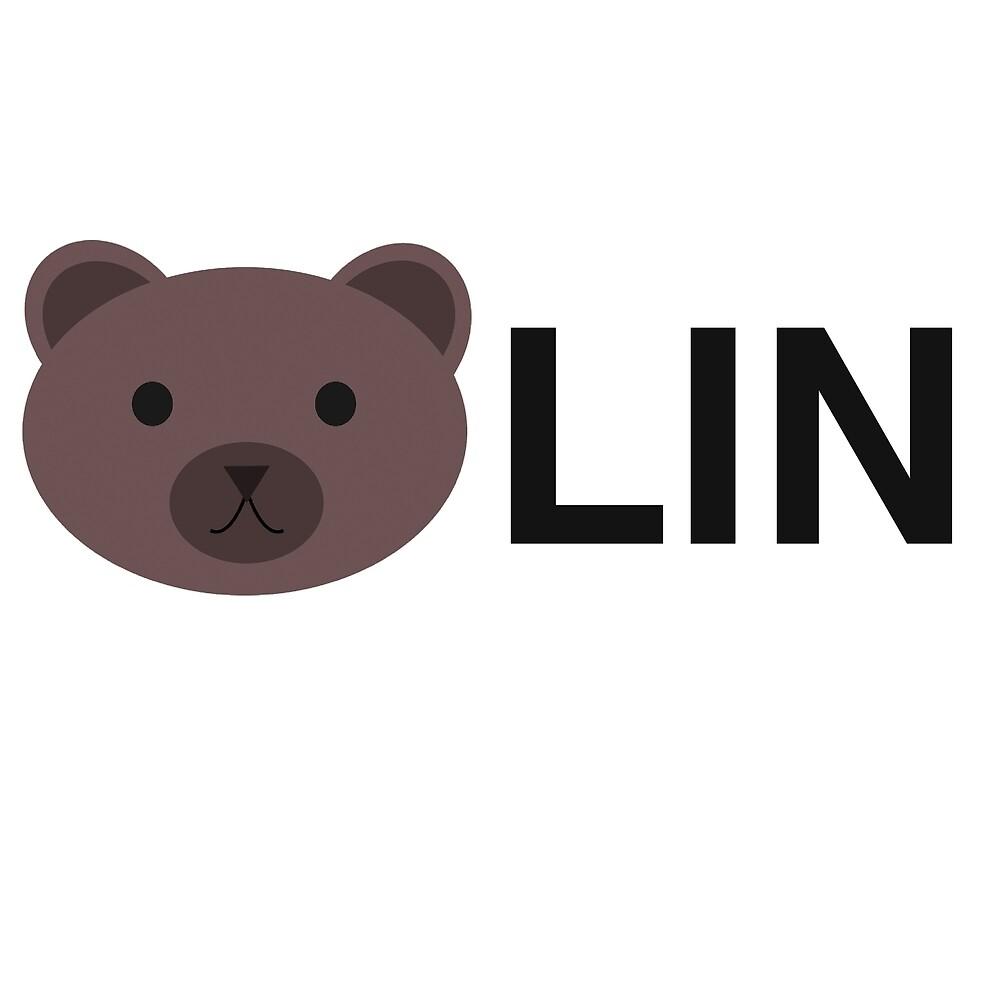 Berlin Germany, Bear Lin Bearlin by tshirtbrewery