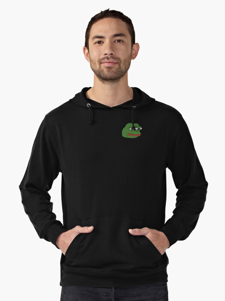 Pepe The Frog Lightweight Hoodie Front