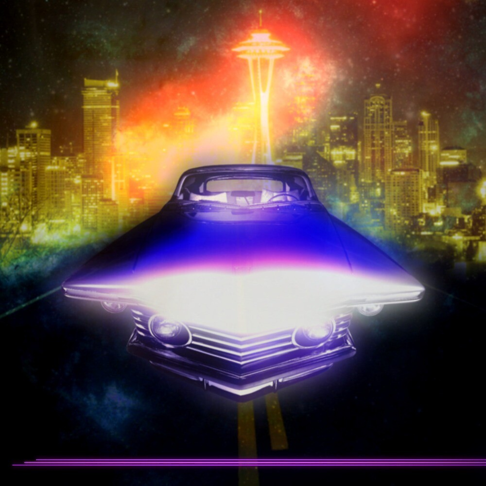 Outrun - Vinyl Cover by motionkontor