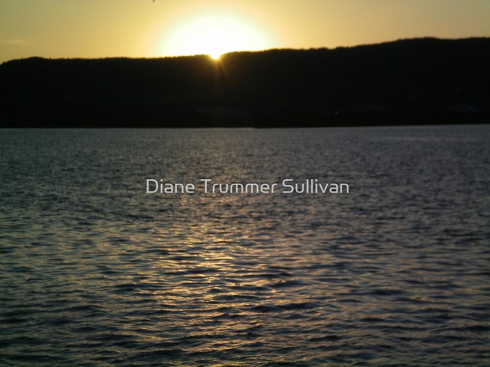 Lake Superior sunset Duluth! by Diane Trummer Sullivan