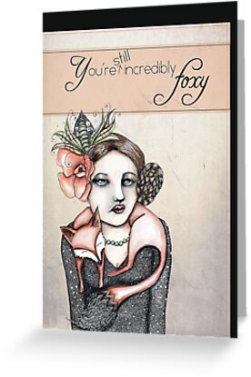 Incredibly foxy by Jenny Wood