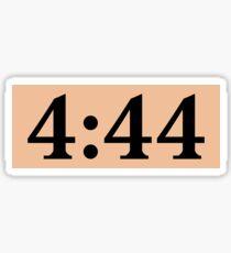 4:44 Sticker