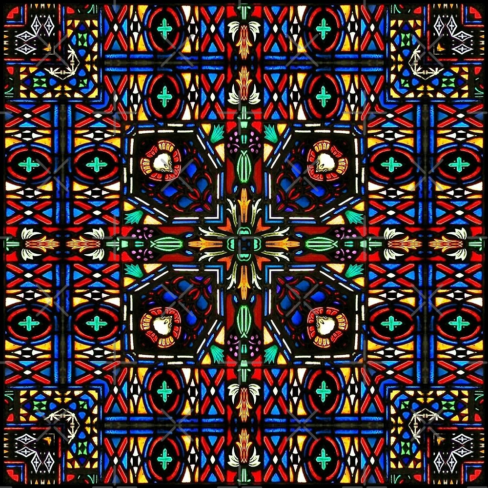 Stained glass 3 by Yampimon