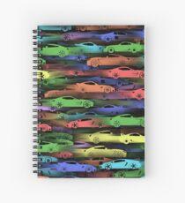 Sportcars Spiral Notebook