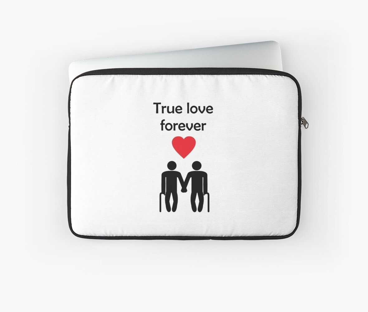True Love Forever Gay Men Greeting Card From Bent Sentiments