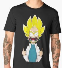 Super Saiyan Rick Men's Premium T-Shirt