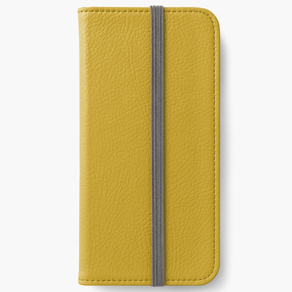 Lemon Curry 15-0751 TCX | Pantone | Color Trends | London | Fall Winter 2017 | Solid Color | Fashion Colors | iPhone Wallet