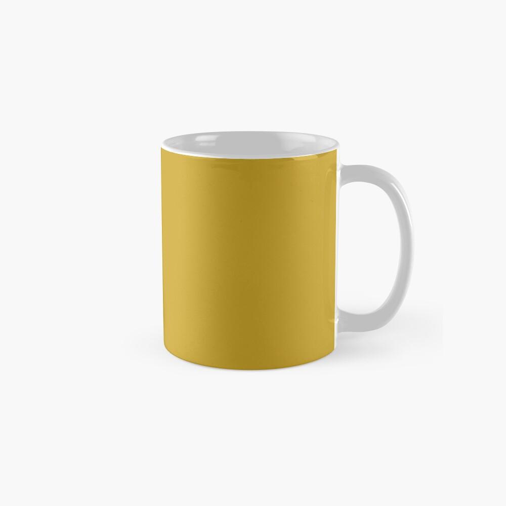 Lemon Curry 15-0751 TCX   Pantone   Color Trends   London   Fall Winter 2017   Solid Color   Fashion Colors   Classic Mug