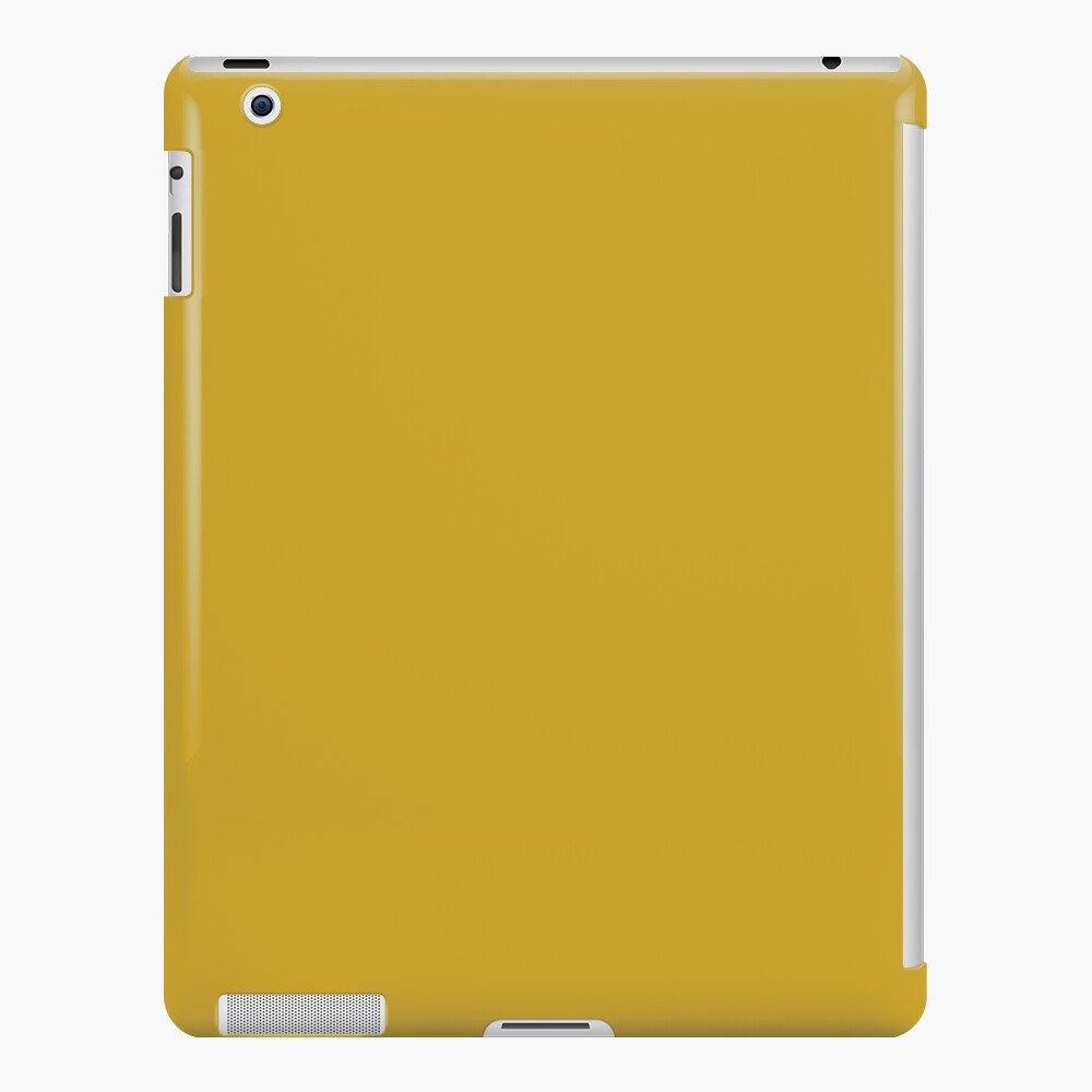 Lemon Curry 15-0751 TCX | Pantone | Color Trends | London | Fall Winter 2017 | Solid Color | Fashion Colors | iPad Snap Case