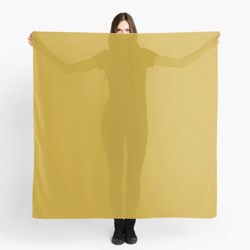 Lemon Curry 15-0751 TCX | Pantone | Color Trends | London | Fall Winter 2017 | Solid Color | Fashion Colors | Scarf