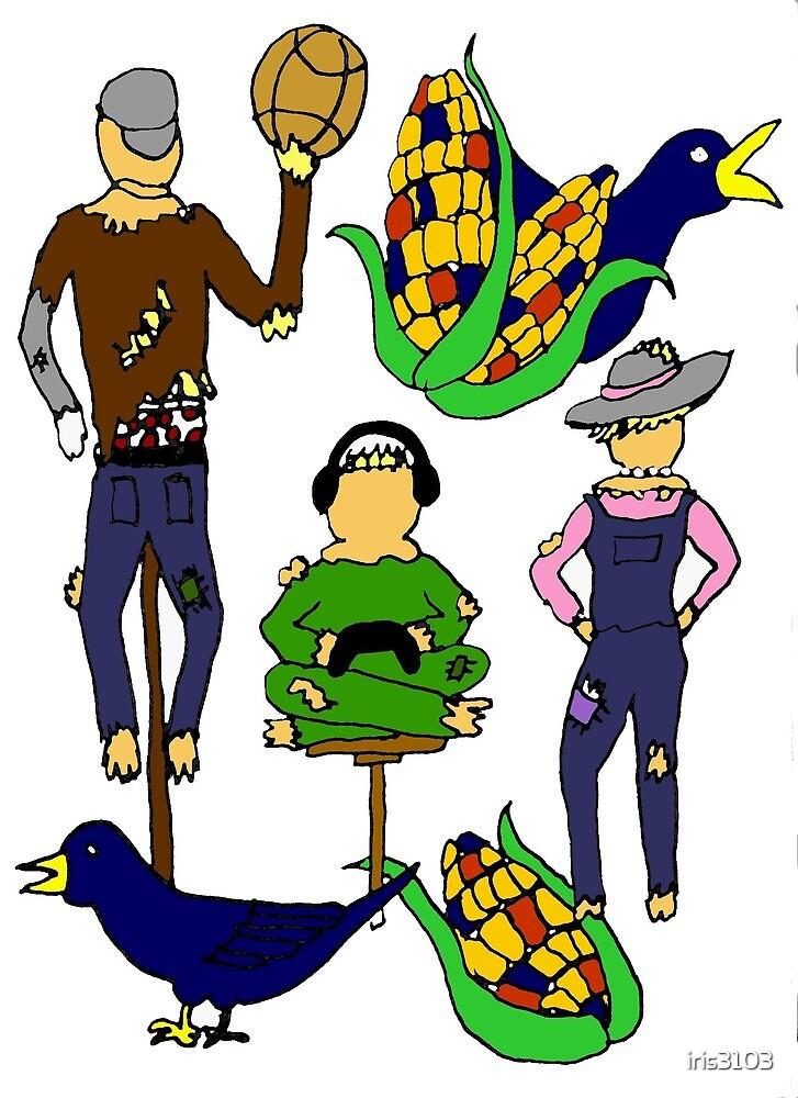 Scarecrow Family by iris3103