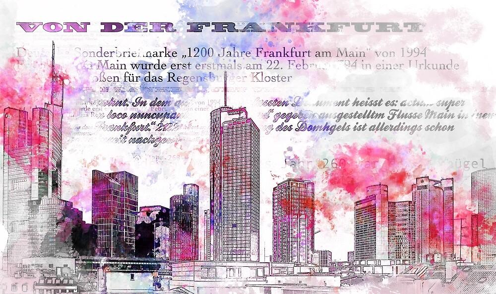 Frankfurt am Main - Modern Art, Sketchbook by STYLESYNDIKAT