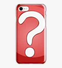 Question Mark Symbol iPhone Case/Skin