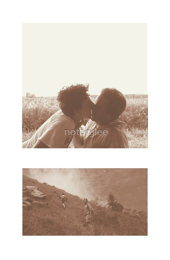 Call Me By Your Name Elio Oliver By Notbrylee Redbubble