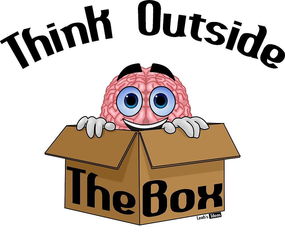 Think Out Of The Box by Leah-Galleria