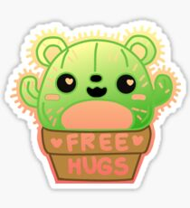 Cuddly Cactus Bear Sticker