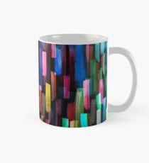 Multicolored watercolor stripes pattern Mug