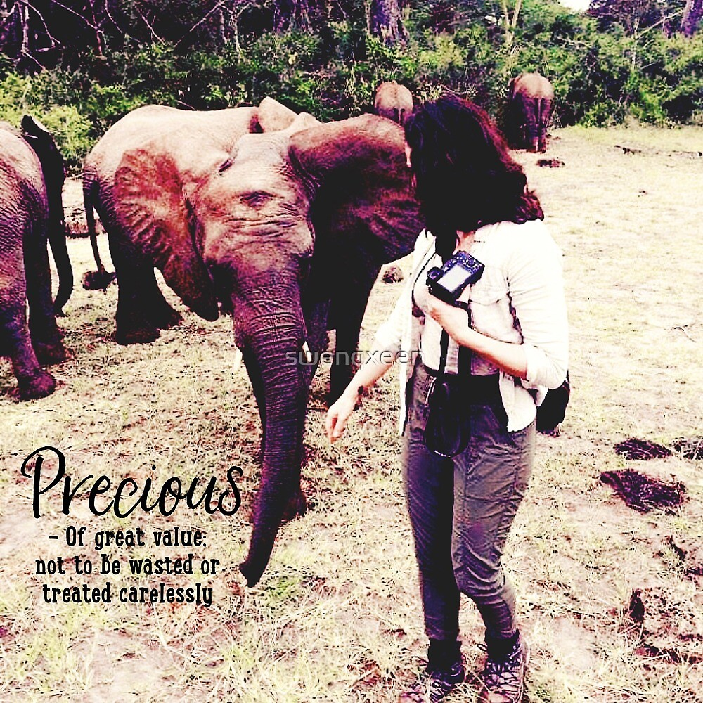 Lana Parrilla And Elephant Precious Definition by swenqxeen