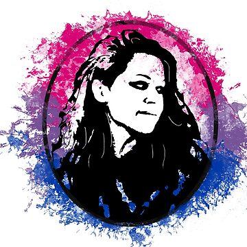 Sarah Manning  Bi Pride - Orphan Black by c-sima