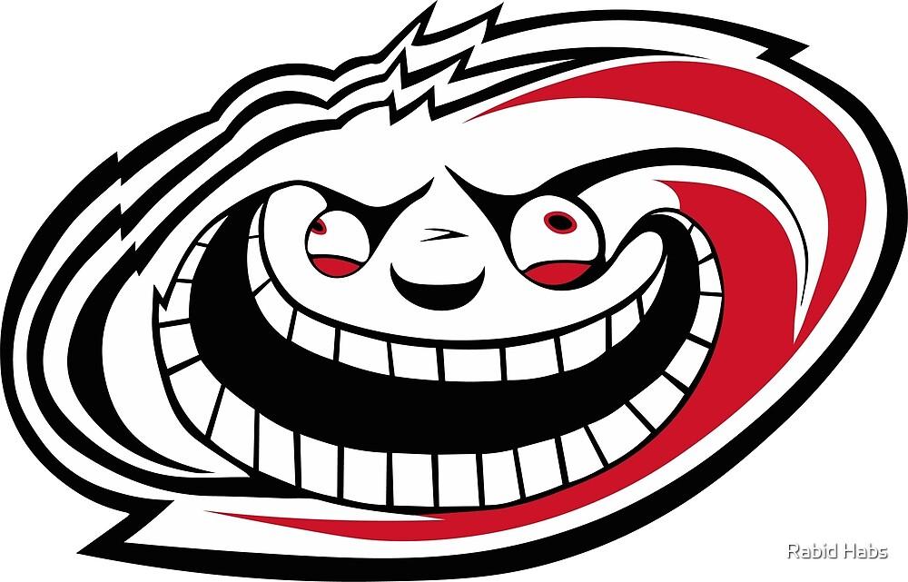 Carolina Rabid Team Logo by Rabid Habs