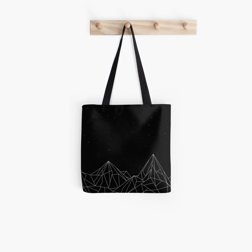Night Court Mountains - Black (OLD VERSION) Tote Bag