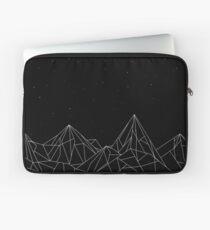 Night Court Mountains - Black (OLD VERSION) Laptop Sleeve