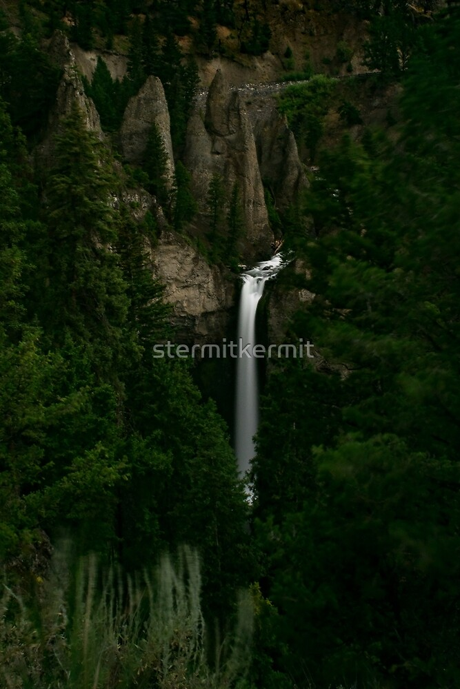 Tower Falls YNP by stermitkermit