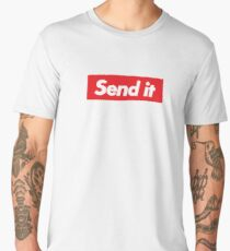 Just Gonna Send It Men's Premium T-Shirt