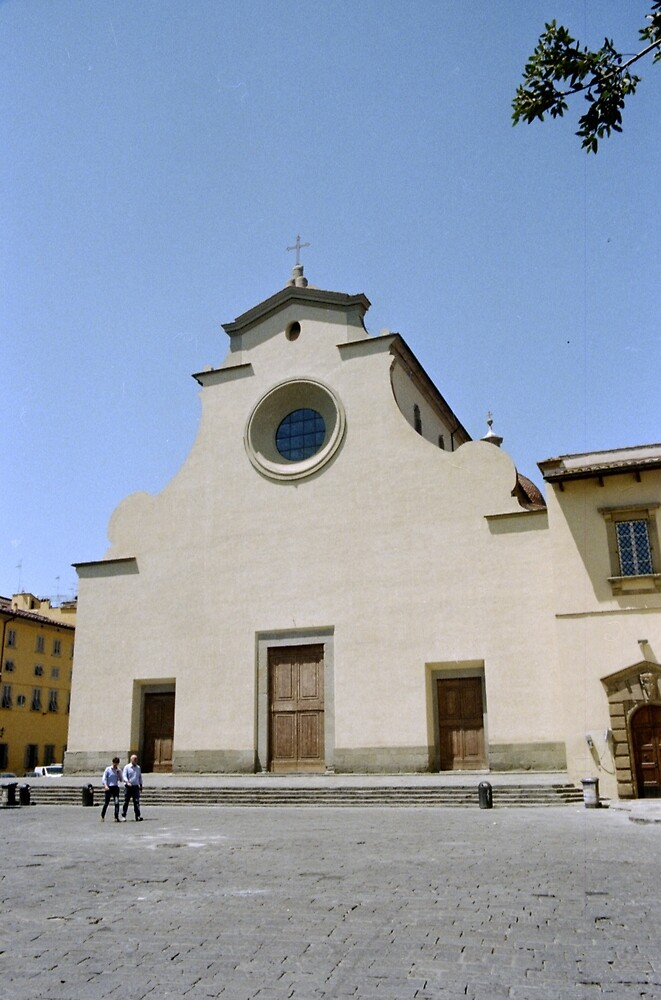 church in Florence by djacobson