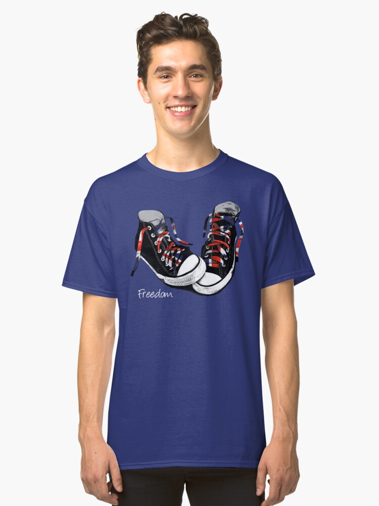 Freedom Shoes Classic T-Shirt Front