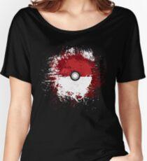 Pokeball Splat Women's Relaxed Fit T-Shirt