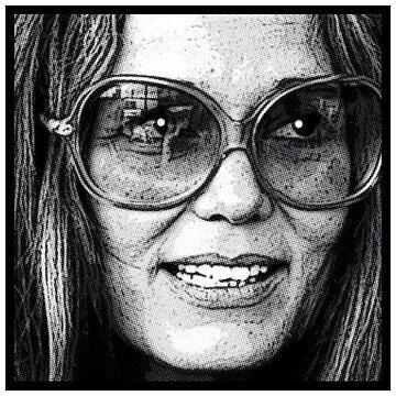 Gloria Steinem by starkle