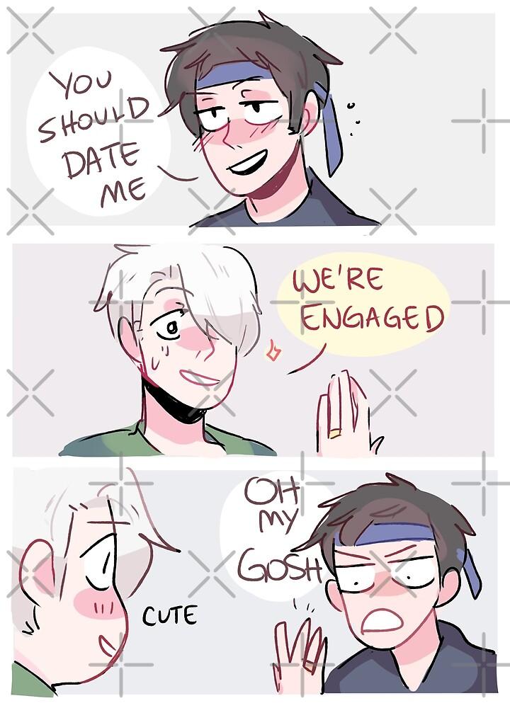 YOI: WE'RE ENGAGED by randomsplashes
