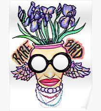 Iris Apfel The Rare Bird Of Fashion Poster
