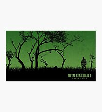 Metal Gear Solid 3: Snake Eater Photographic Print