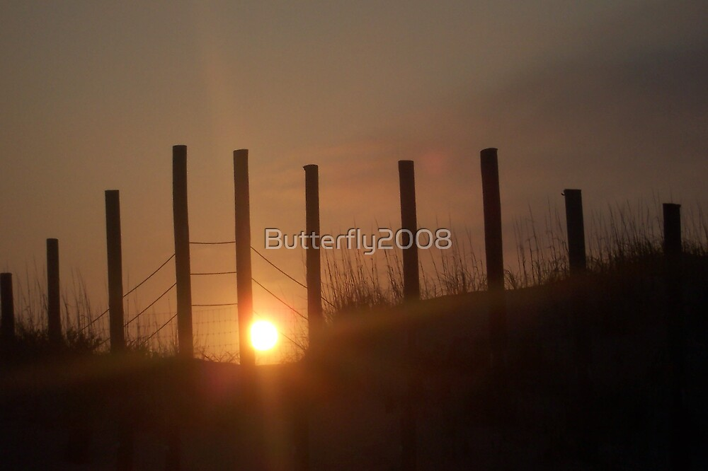 Sunset at the Border by Butterfly2008