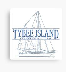 Tybee Island Georgia Canvas Print
