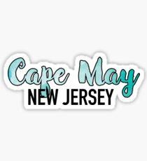 Cape May Sticker