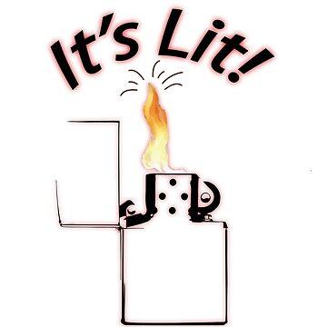 It's Lit! by ahmedburdette