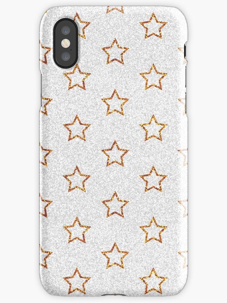 Gold Stars Glitter by PineLemon