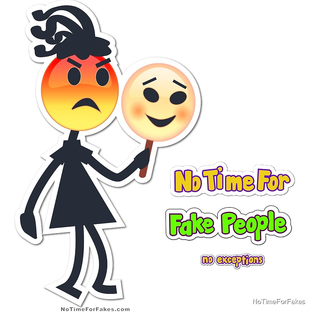 Fake People Girl Emoji by NoTimeForFakes