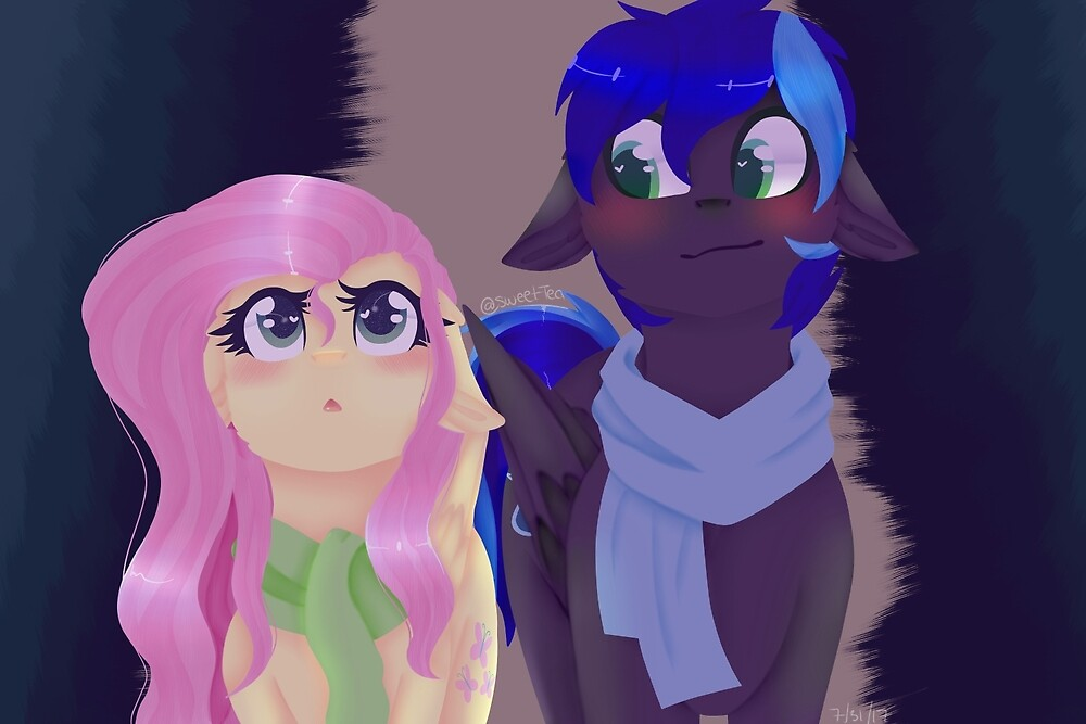 Ponys (cosmic and Fluttershy) by Mapleheart